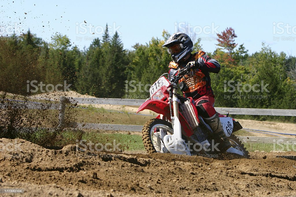 motocross dirt royalty-free stock photo