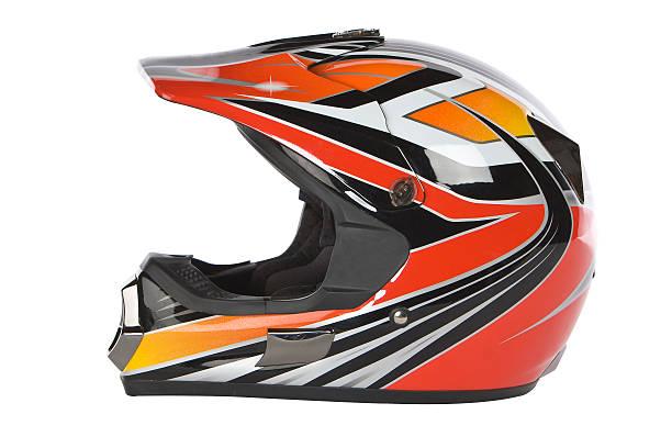 motocross casque de moto - casque de protection au sport photos et images de collection