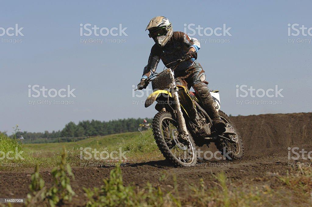 Motocross royalty-free stock photo