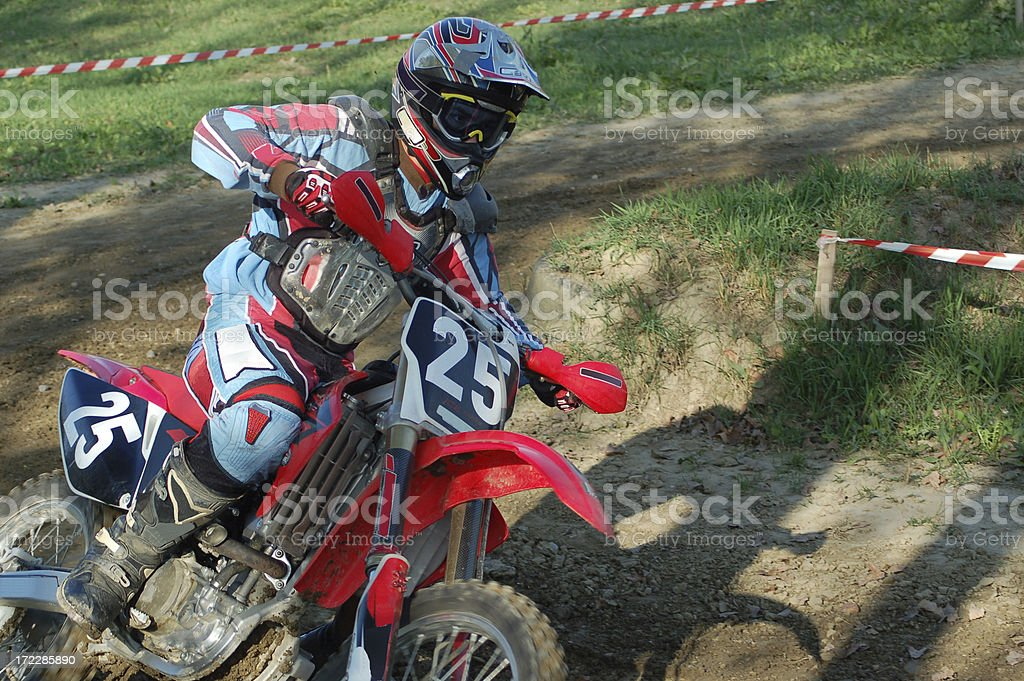 Motocross royalty-free stock photo