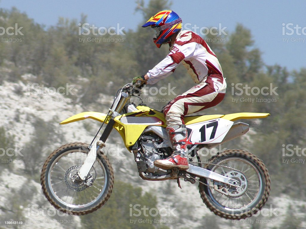 Motocross Race royalty-free stock photo