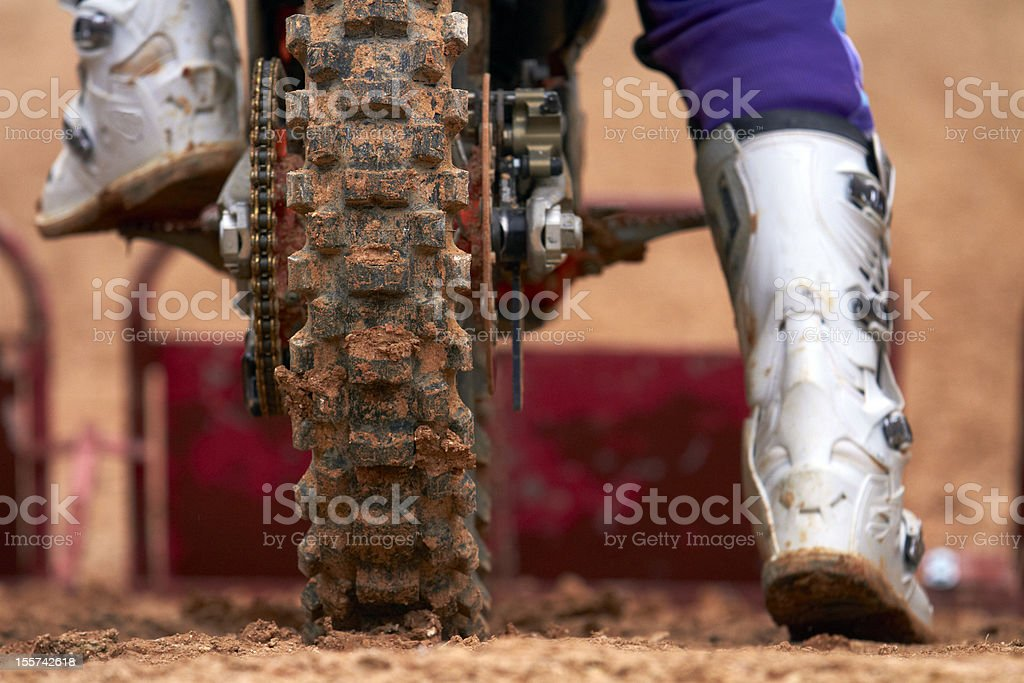 Motocross race royalty-free stock photo