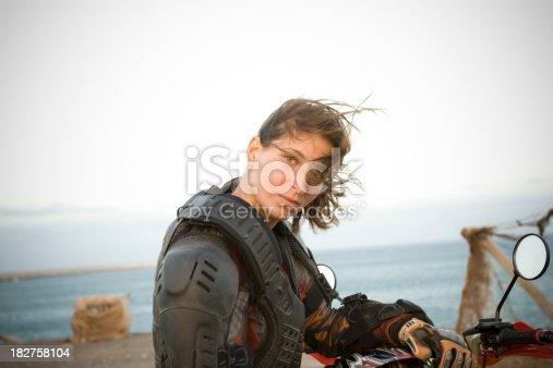 istock Motocross Woman 182758104