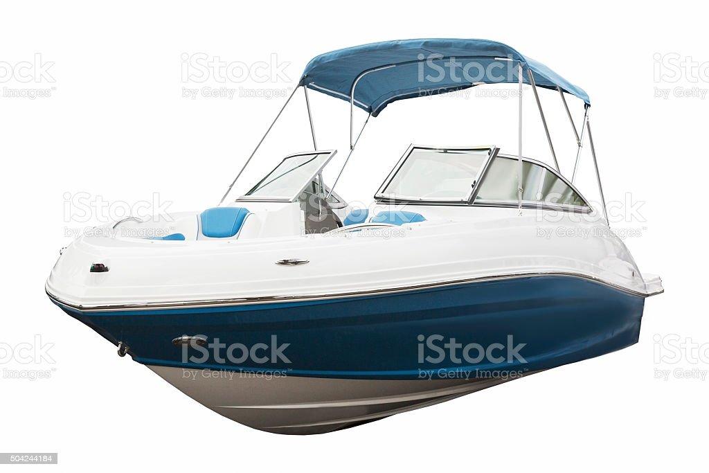 Barco a motor - foto de acervo