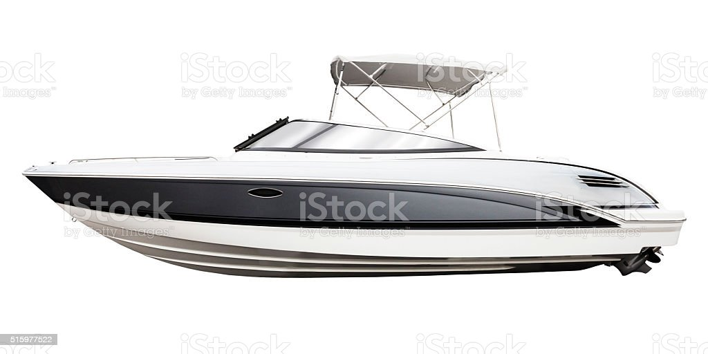 motor boat stock photo