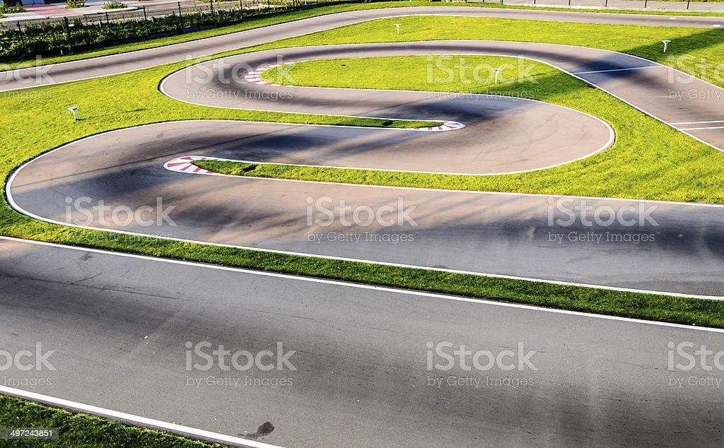 Motor circuit racetrack stock photo stock photo