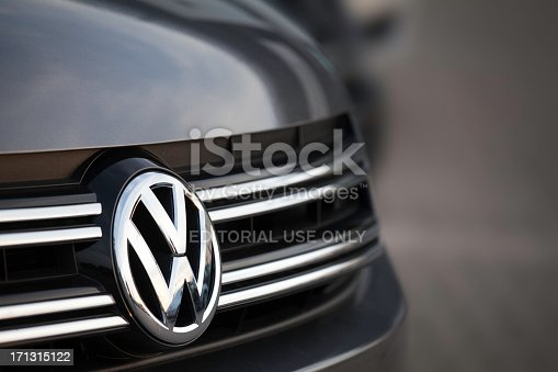 istock SUV - VW Motor Company Badge 171315122