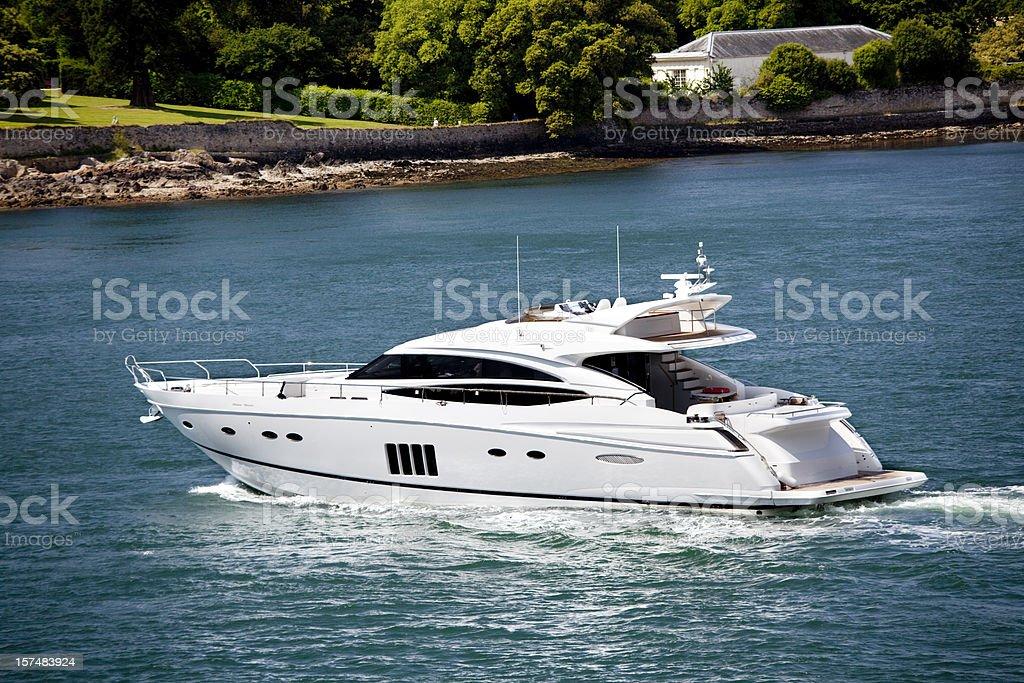 Barca a motore - foto stock