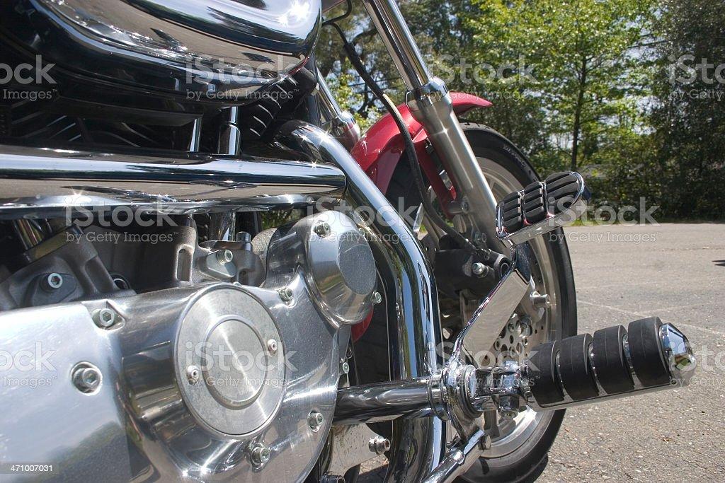 Motor Cycle royalty-free stock photo