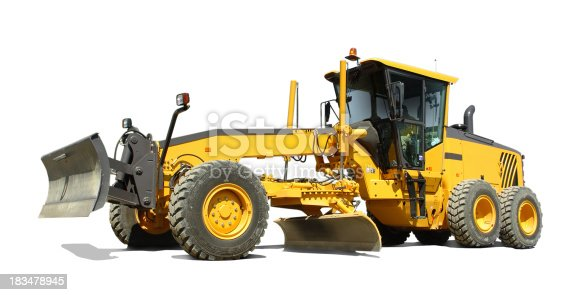 Isolated motor grader with a operating weight of 49 000 lb or 22 000 kg.