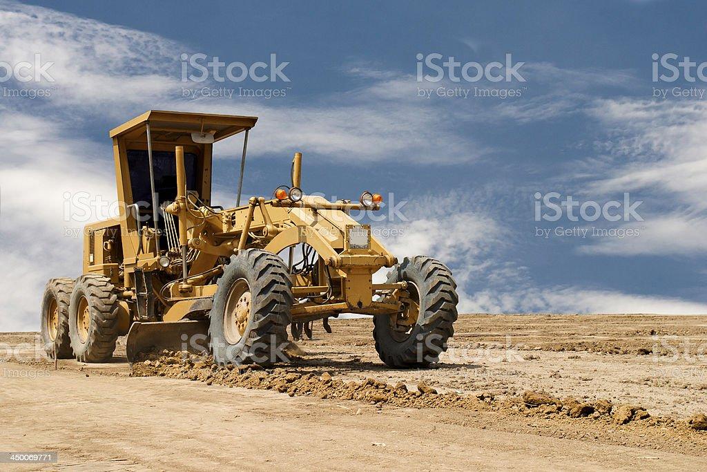 Motor Straßenhobel Arbeiten auf Straßenarbeiten – Foto