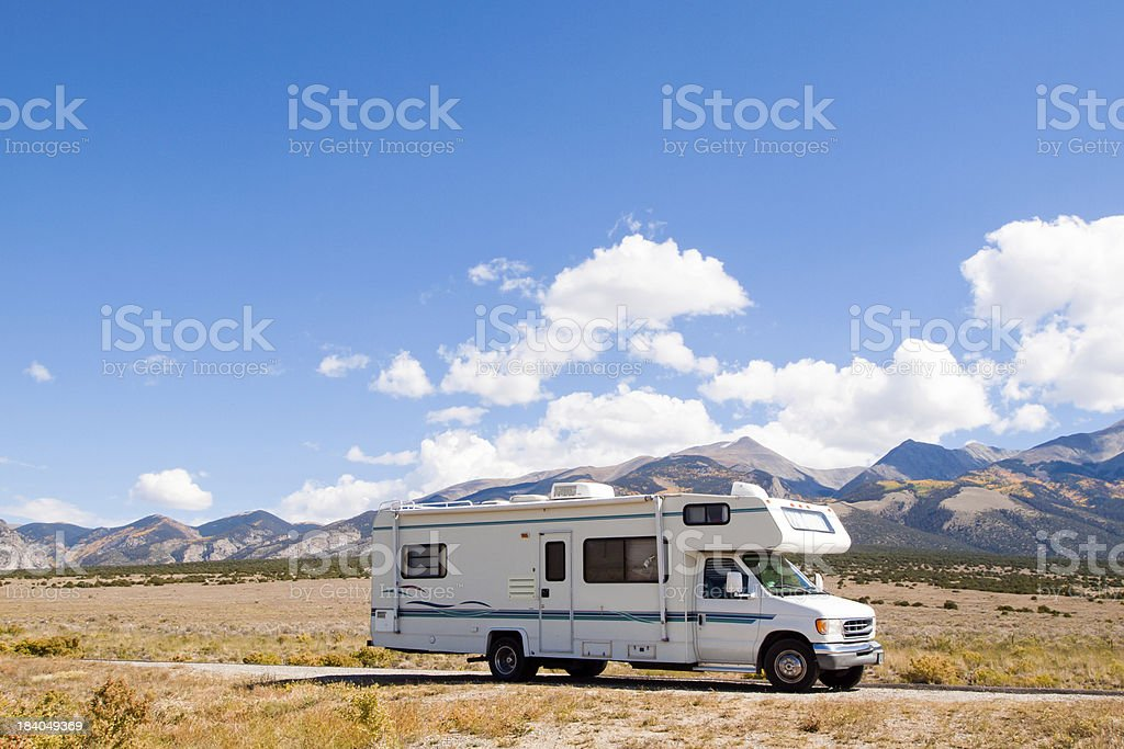 Motor Home royalty-free stock photo