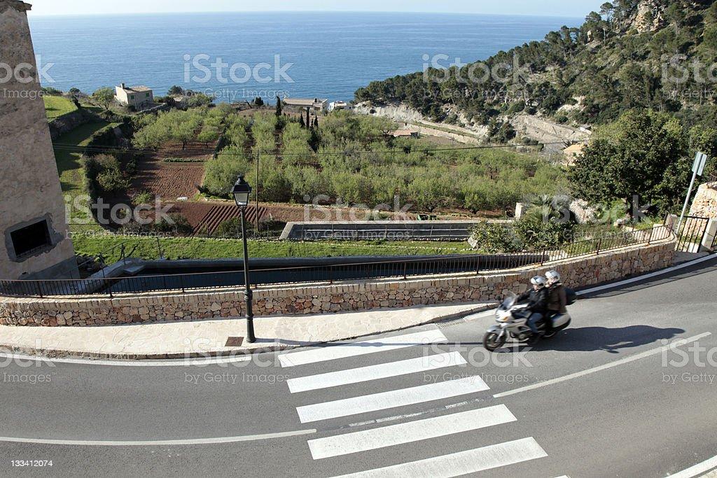 Motor Mallorca royalty-free stock photo