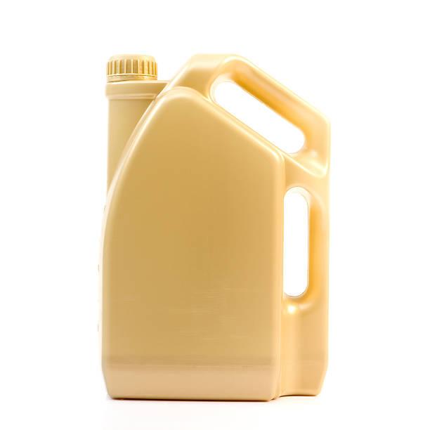 Botella de aceite de Motor - foto de stock