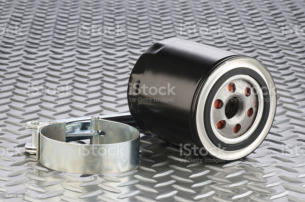 Motor Oil Filter royalty-free stock photo