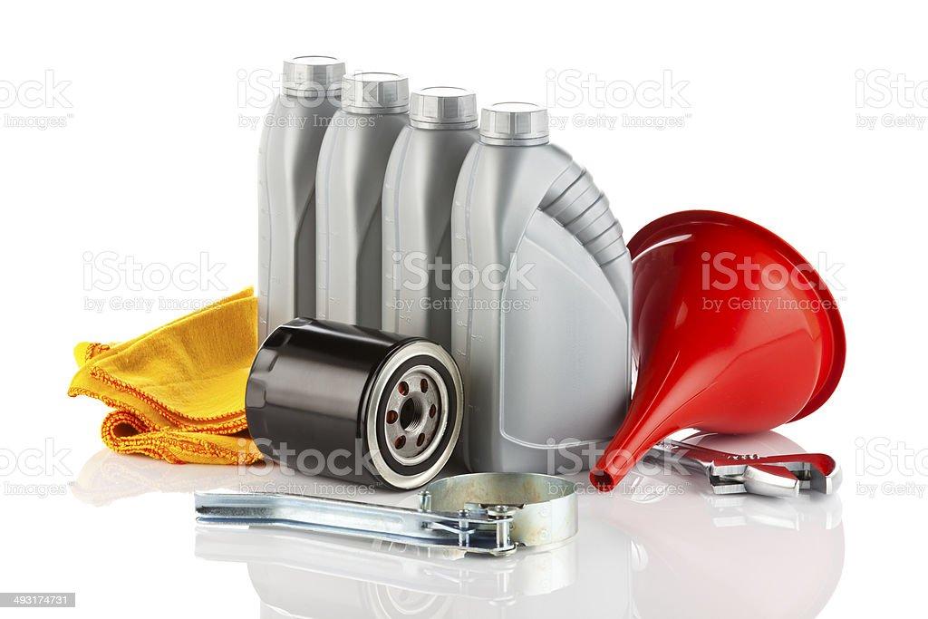 Motor Oil stock photo