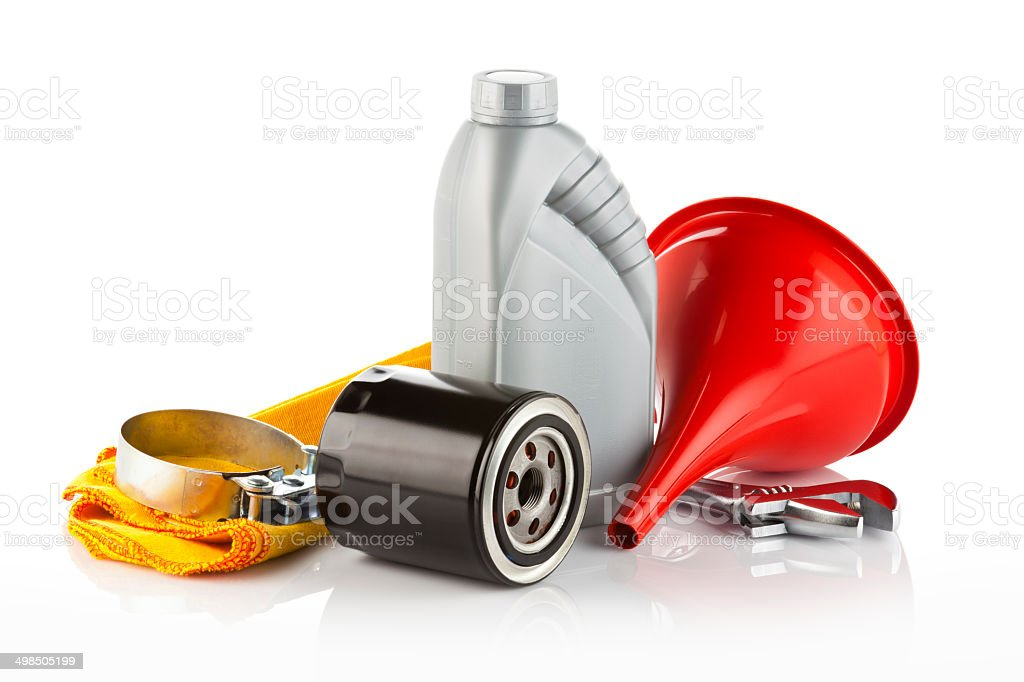 Motor Oil stock photo