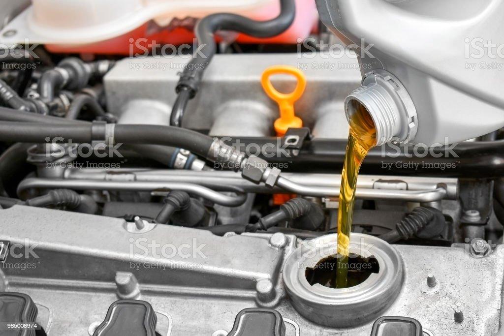 Motor oil – Foto