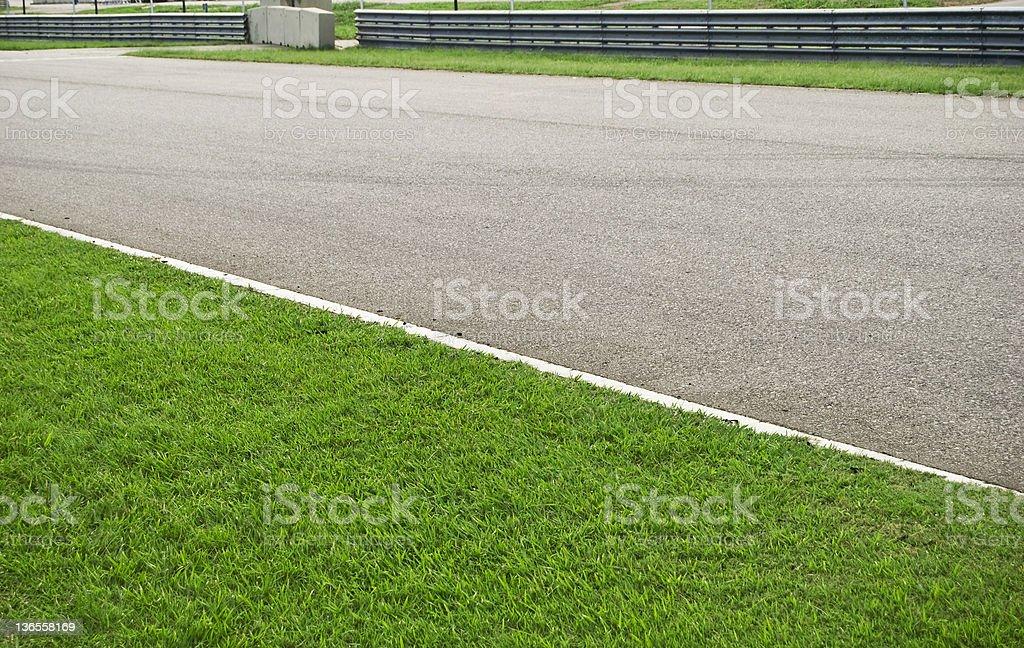 Motor race track royalty-free stock photo