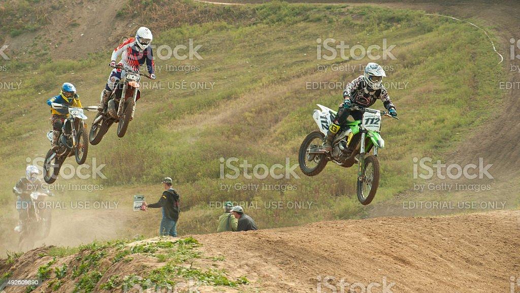 Motor Racing, cross championship stock photo