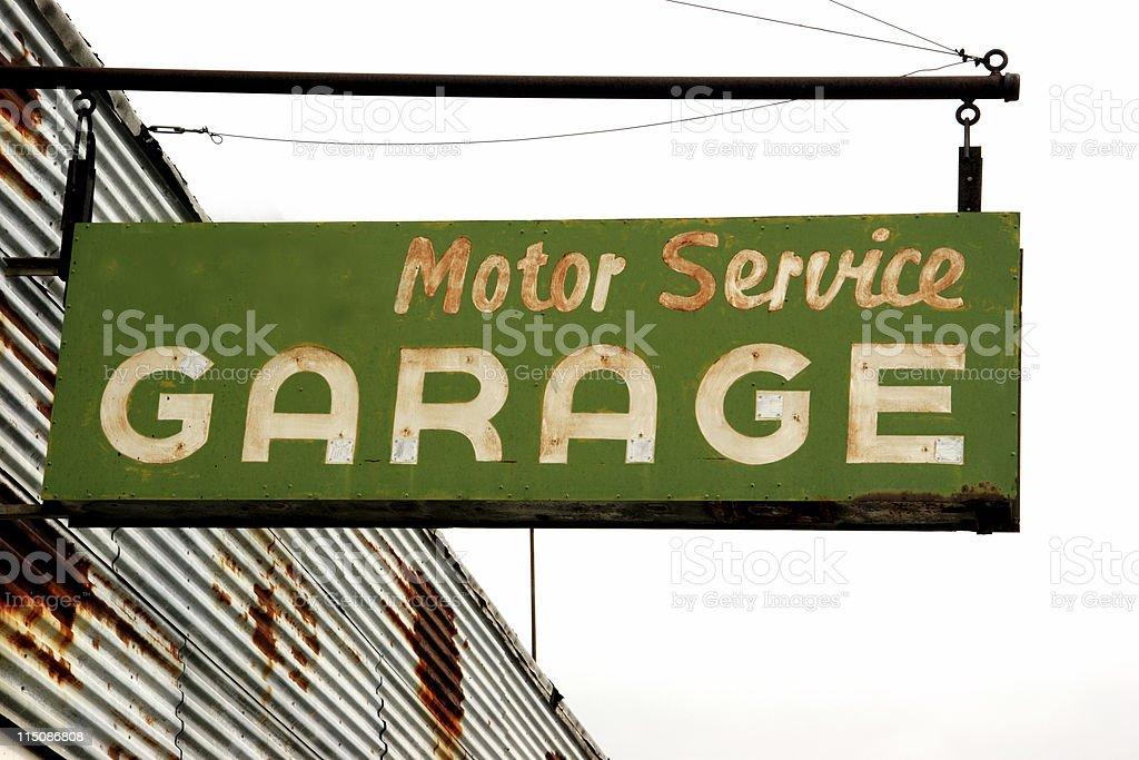 motor service garage royalty-free stock photo