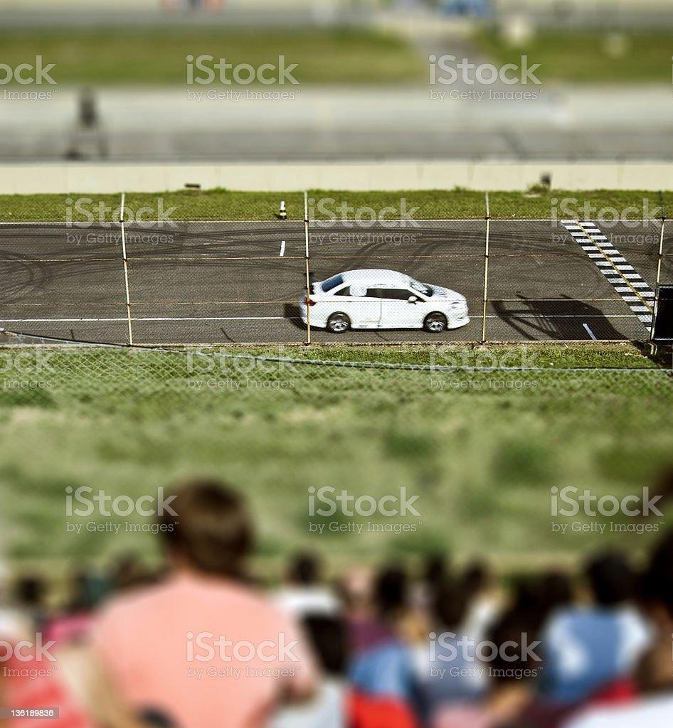 Motor speedway stock photo