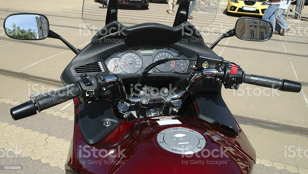motorbike dashboard royalty-free stock photo