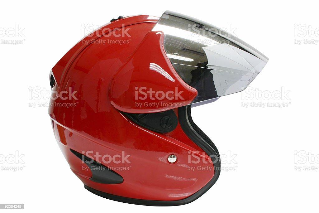 motorbike helmet royalty-free stock photo