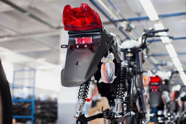 Motorbike Industry stock photo