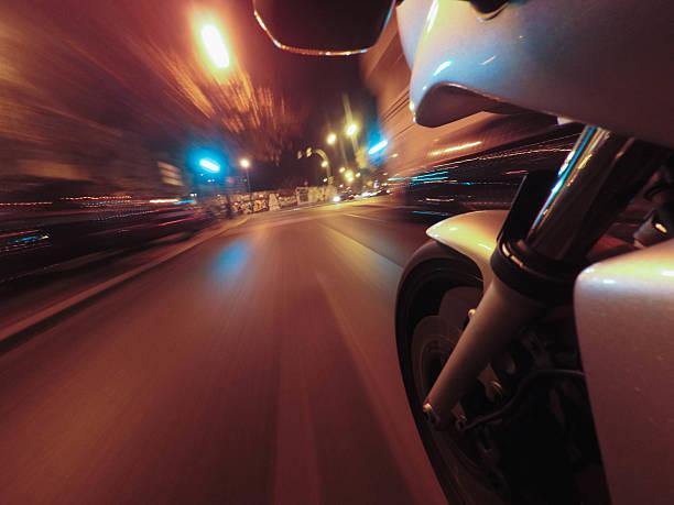 Motorrad auf der Straße – Foto