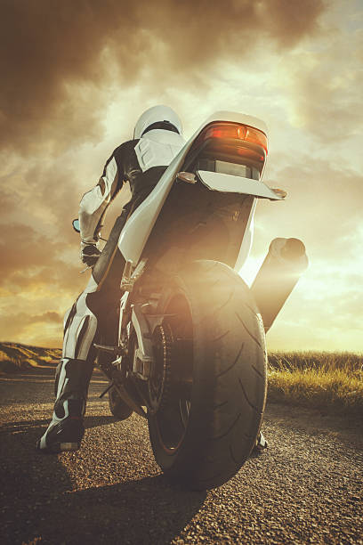 motorbike - motorbike racing stock photos and pictures