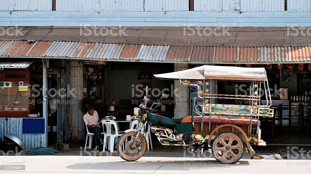 Carrera de Taxi foto de stock libre de derechos