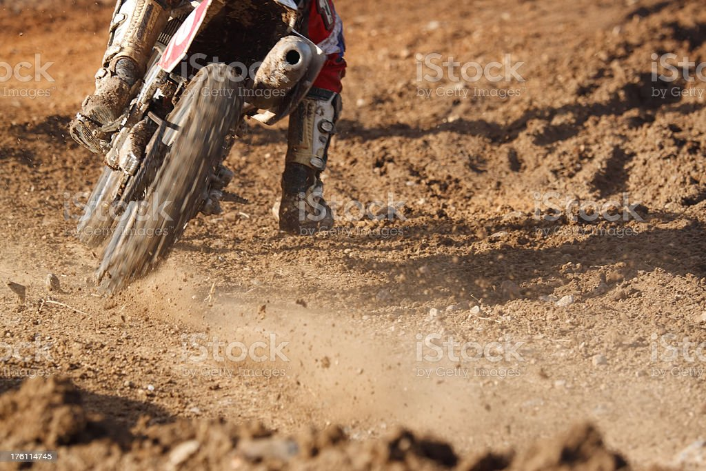 Motorcross royalty-free stock photo
