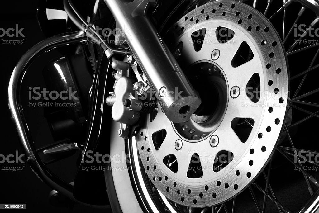 Motorcycle brake disc foto