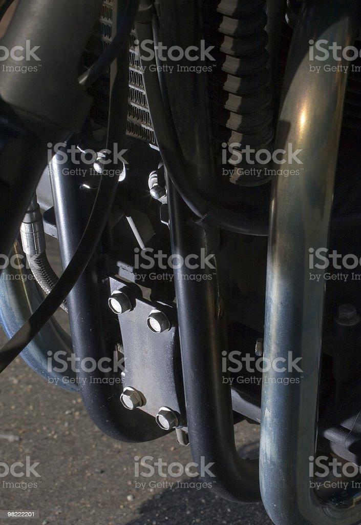 Motorcycle Engine royalty-free stock photo