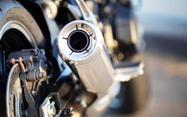 Échappement moto - Photo