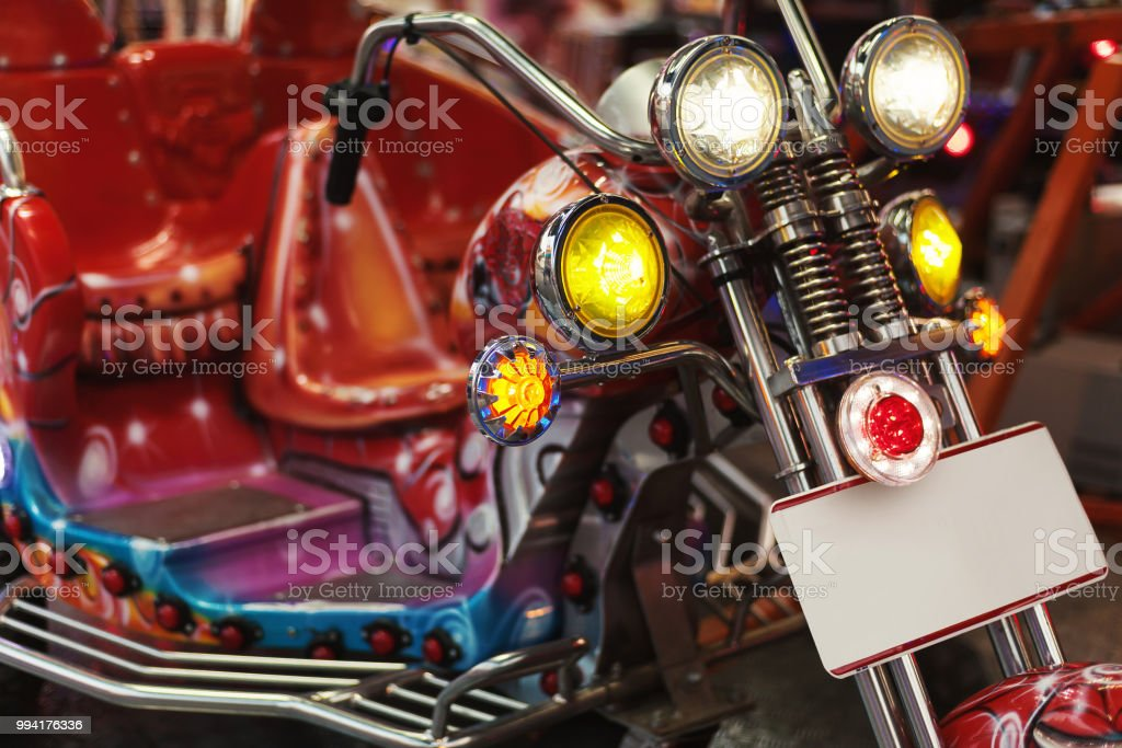 Motorcycle for Kids stock photo