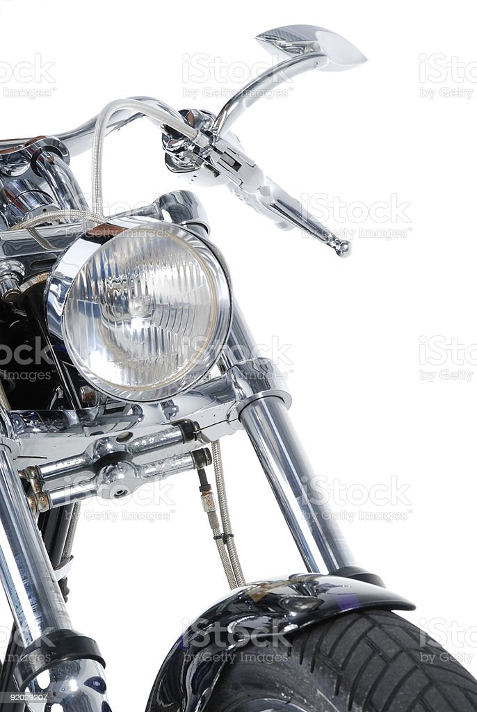 Motorcycle Front Fork-2 stock photo