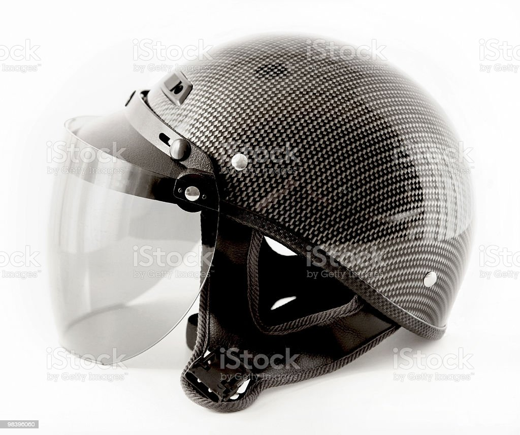 motorcycle half helmet royalty-free stock photo