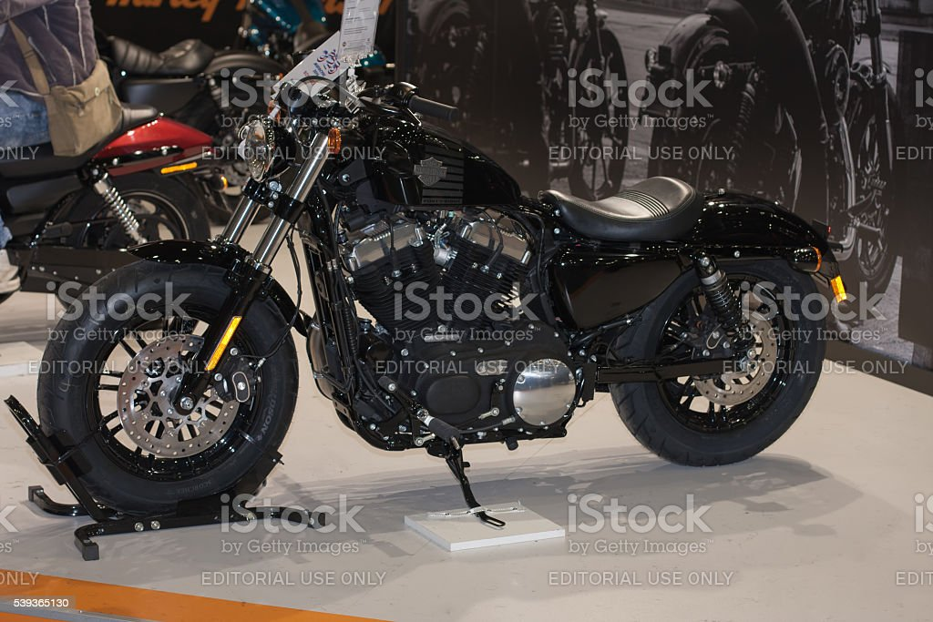 Motorcycle Harley Davidson Sportster Forty Eight At Internati Stock Photo Download Image Now Istock