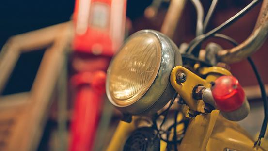motorcycle headlamp