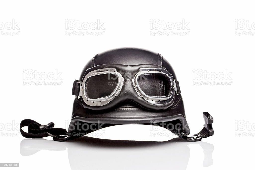 US ARMY motorcycle helmet stock photo