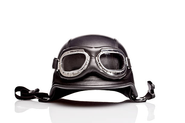 US ARMY motorcycle helmet stock photo