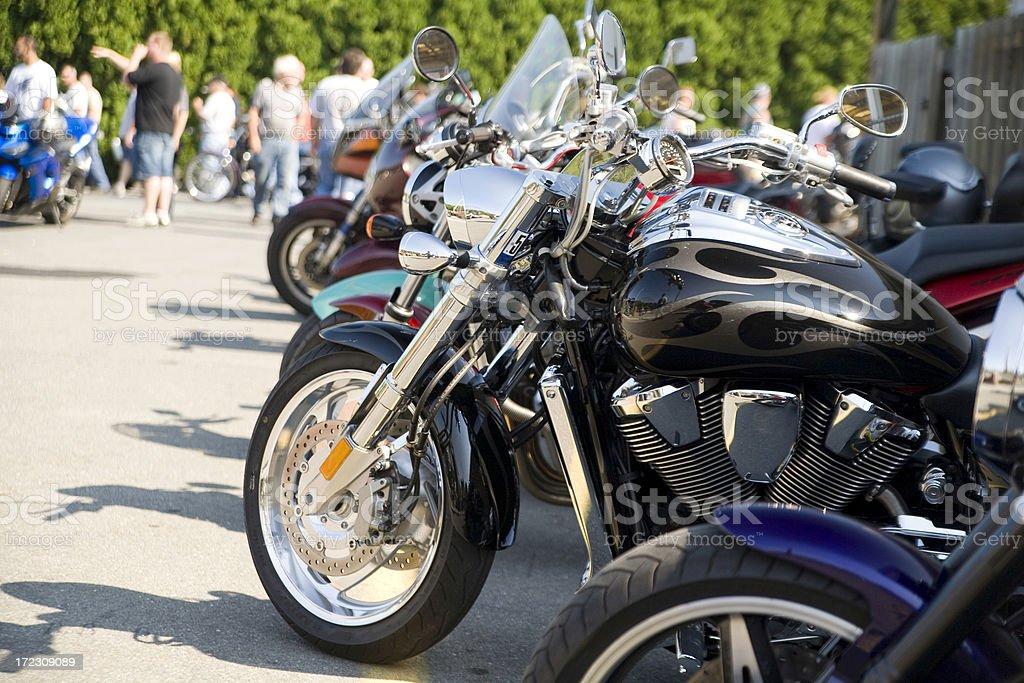 Motorcycle Meet royalty-free stock photo