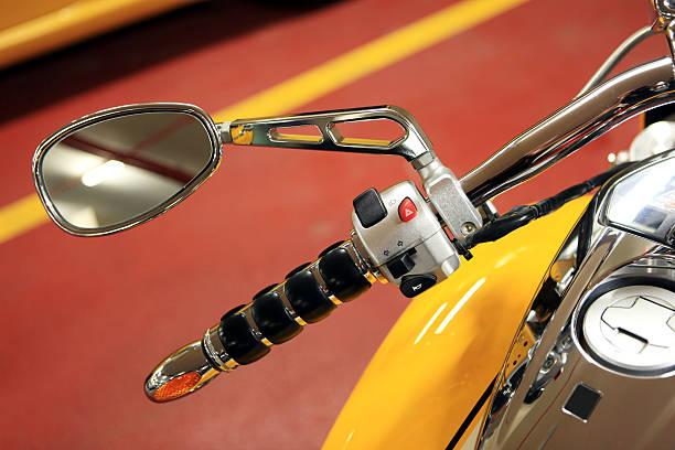 motorrad-spiegel - pictafolio stock-fotos und bilder