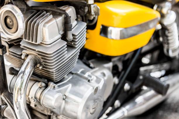 motorrad-motor-metallteile - converse taylor stock-fotos und bilder
