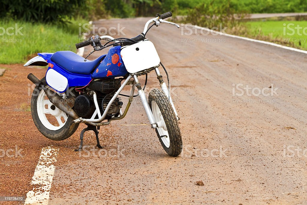 Motorcycle royalty-free stock photo