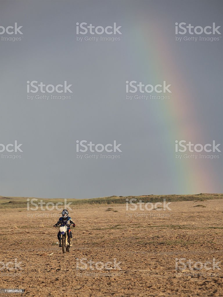 motorcycle player royalty-free stock photo