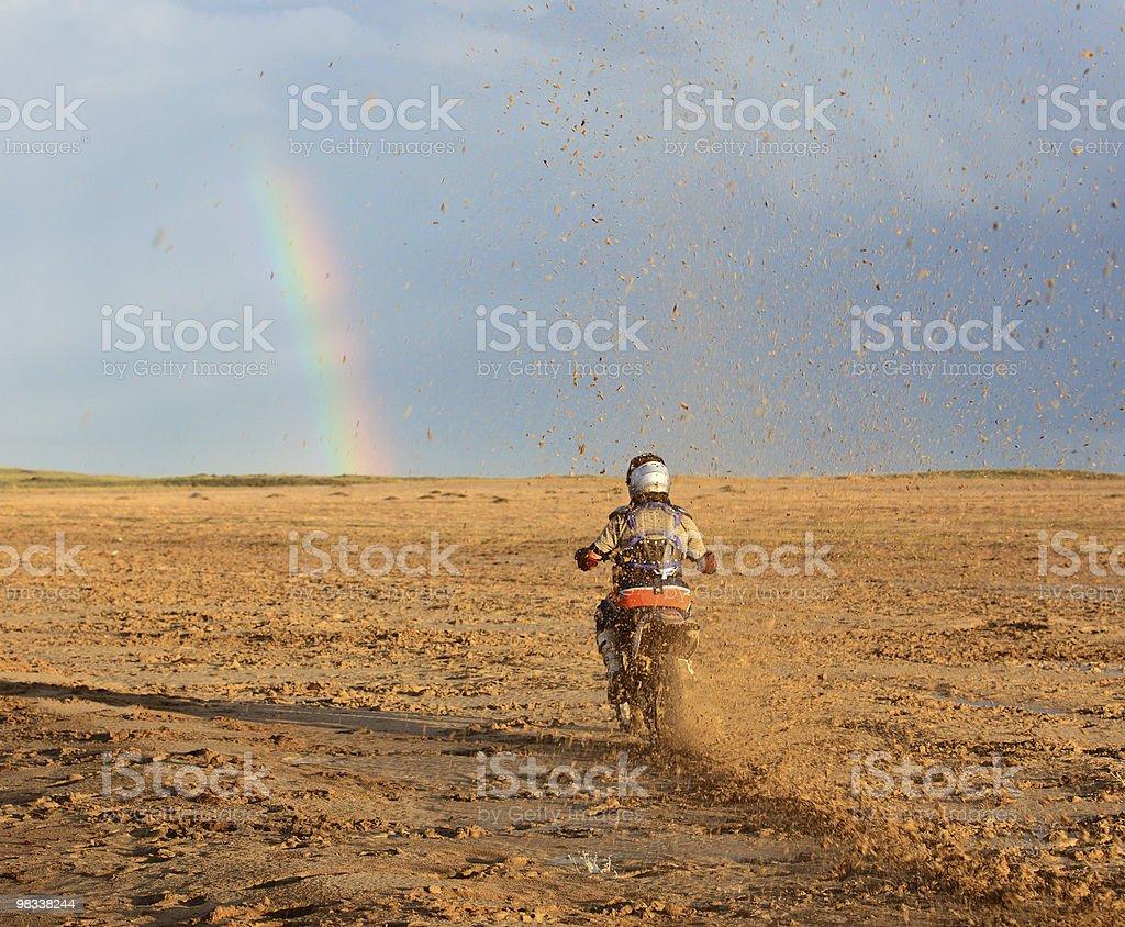 Motocicletta Lettore di foto stock royalty-free