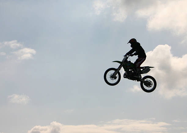 motorcycle stunt rider - daredevil stock pictures, royalty-free photos & images